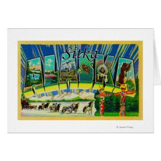 Sitka, AlaskaLarge Letter ScenesSitka, AK Card