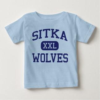 Sitka - Wolves - Sitka High School - Sitka Alaska Tshirt