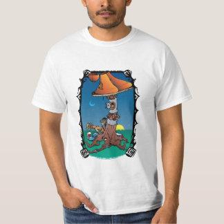 Sittin by the mushroom tree. t-shirt