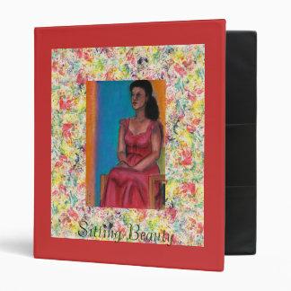 Sitting Beauty & Rose #7 Vinyl Binders