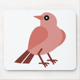 Sitting Bird Mouse Pad