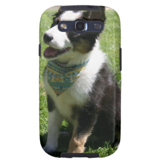 Sitting Border Collie Phone Case Galaxy S3 Cases