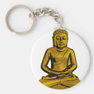 Sitting Buddha Keychain