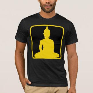 sitting buddha logo T-Shirt