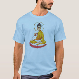SITTING BUDDHA MEDITATING PEACE T-Shirt