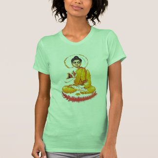 SITTING BUDDHA MEDITATING PEACE SHIRT