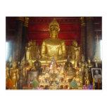 sitting buddha post cards