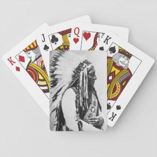 Sitting Bull, a Hunkpapa Sioux Card Decks