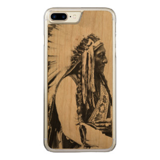Sitting Bull, a Hunkpapa Sioux Carved iPhone 7 Plus Case
