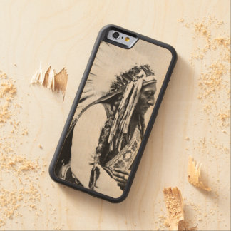 Sitting Bull, a Hunkpapa Sioux Carved Maple iPhone 6 Bumper Case