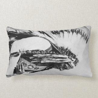 Sitting Bull, a Hunkpapa Sioux Lumbar Pillow