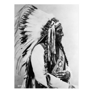 Sitting Bull, a Hunkpapa Sioux Postcard