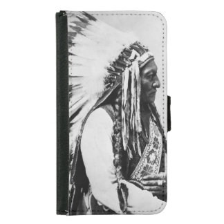 Sitting Bull, a Hunkpapa Sioux Samsung Galaxy S5 Wallet Case