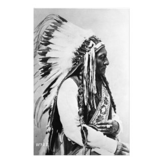 Sitting Bull, a Hunkpapa Sioux Stationery