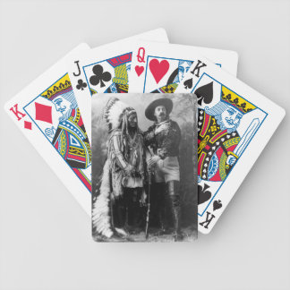 Sitting_Bull_and_Buffalo_ Bicycle Playing Cards