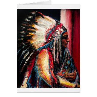 Sitting Bull Card