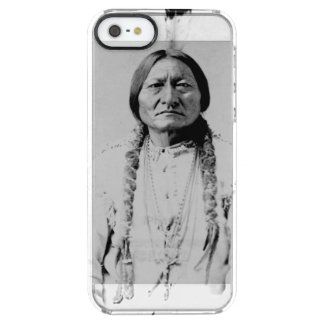 Sitting Bull Clear iPhone SE/5/5s Case