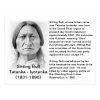 Sitting Bull FACT CARD
