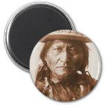 Sitting Bull Fridge Magnet