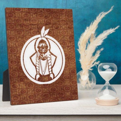 'Sitting Bull IV' Display Plaques
