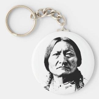 Sitting Bull Keychain