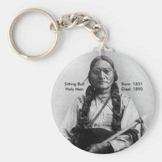 Sitting Bull Key Chains