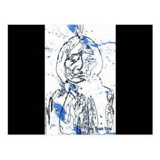 Sitting Bull - Original Design by Lance Brown Eyes Postcard