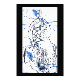 Sitting Bull - Original Design by Lance Brown Eyes Customized Stationery