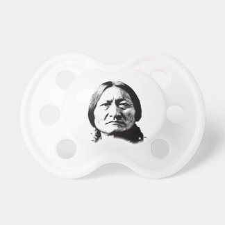 Sitting Bull Baby Pacifier