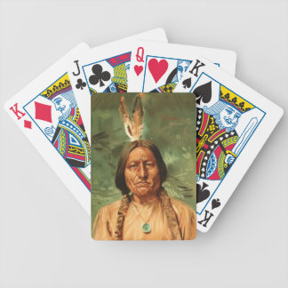 Sitting-Bull painted by William Gilbert Gaul 1890 Bicycle Playing Cards