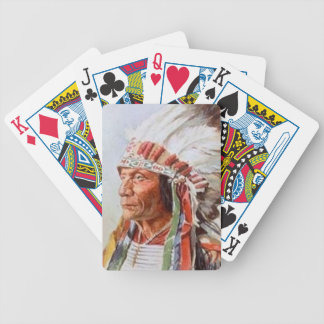 Sitting Bull Playing Cards