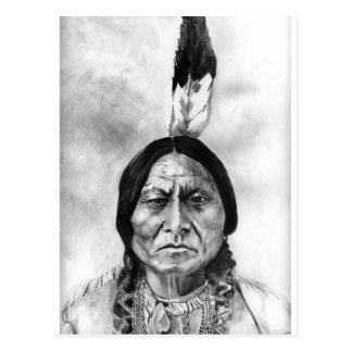 Sitting Bull Postcard