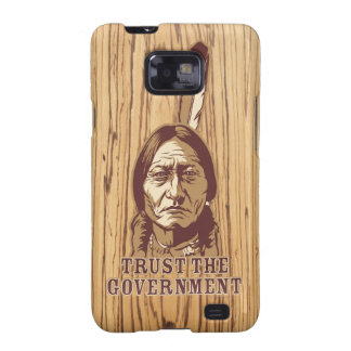 Sitting Bull Satire Phone Case Samsung Galaxy SII Covers