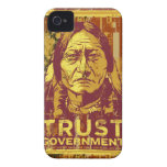 Sitting Bull Trust Government iPhone 4S Case iPhone 4 Case-Mate Cases