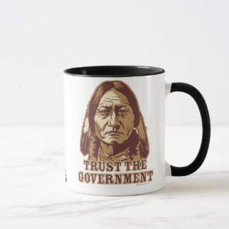 Sitting Bull Trust Government Mug
