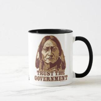 Sitting Bull Trust Government Mug