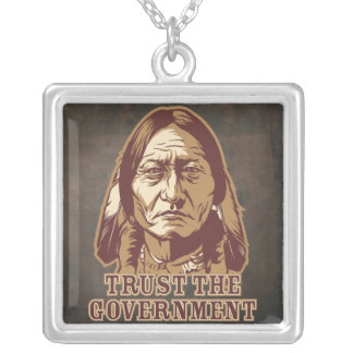 Sitting Bull Trust Government Necklace