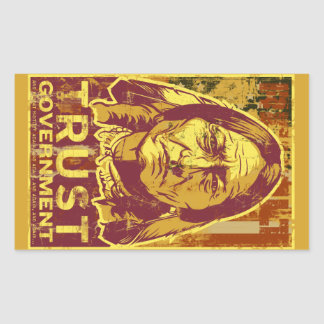 Sitting Bull Trust Government  Sticker Set