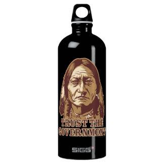 Sitting Bull Trust The Government Liberty Bottle SIGG Traveler 1.0L Water Bottle