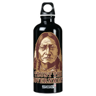 Sitting Bull Trust The Government Liberty Bottle SIGG Traveler 0.6L Water Bottle