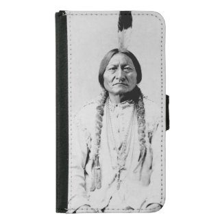 Sitting Bull Wallet Phone Case For Samsung Galaxy S5