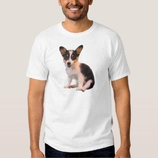 Sitting Cardigan Welsh Corgi Puppy T Shirts