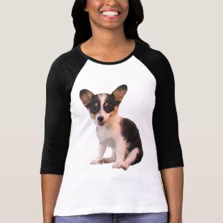 Sitting Cardigan Welsh Corgi Puppy Tee Shirt