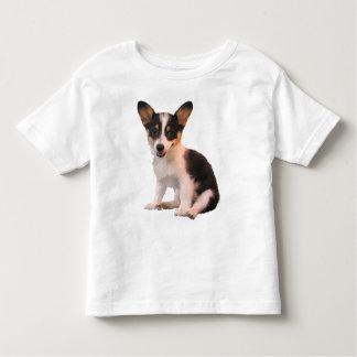 Sitting Cardigan Welsh Corgi Puppy Tshirt