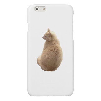 Sitting Cat Glossy iPhone 6 Case