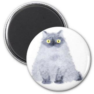 sitting cat magnet