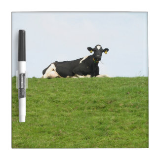 Sitting Cow Dry Erase Board