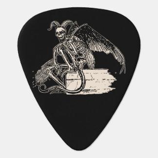 Sitting Demon Guitar Pick