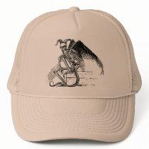 Sitting Demon Trucker Hat