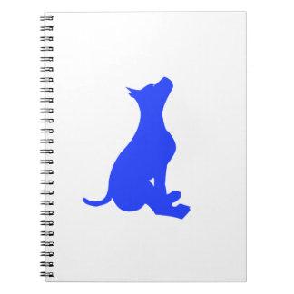 Sitting Dog Notebook